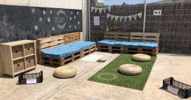 Nou espai tranquil al pati!